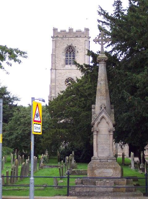 Cenotaph + St. Luke's (alternate view)