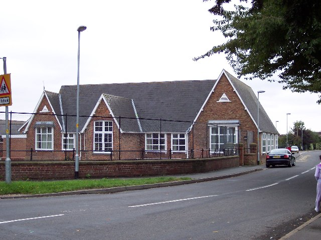 C of E School opposite St. Luke's