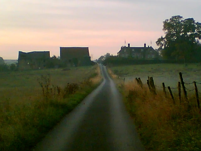 Beightonfields Priory At Dawn