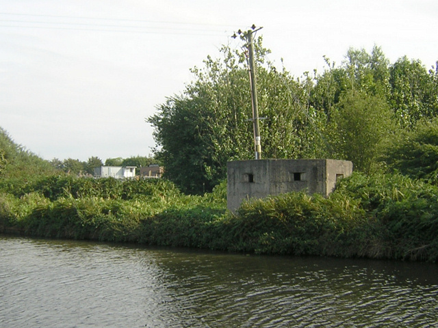 Pillbox Fortification on the Canal