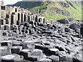 C9444 : The Giant's Causeway by Kenneth  Allen
