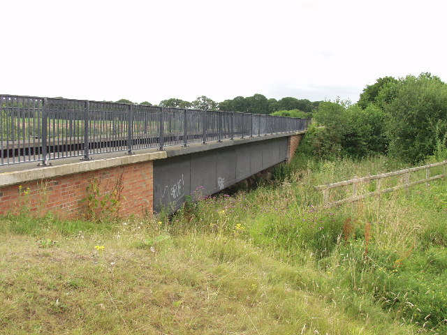 The New Perry aqueduct on the Montgomery Canal