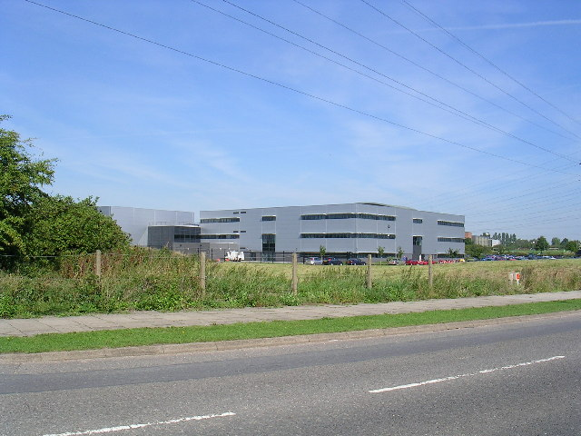 Part of the Rolls Royce Aero Engine Plant, Derby