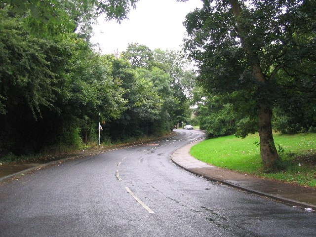 Road in Gatley