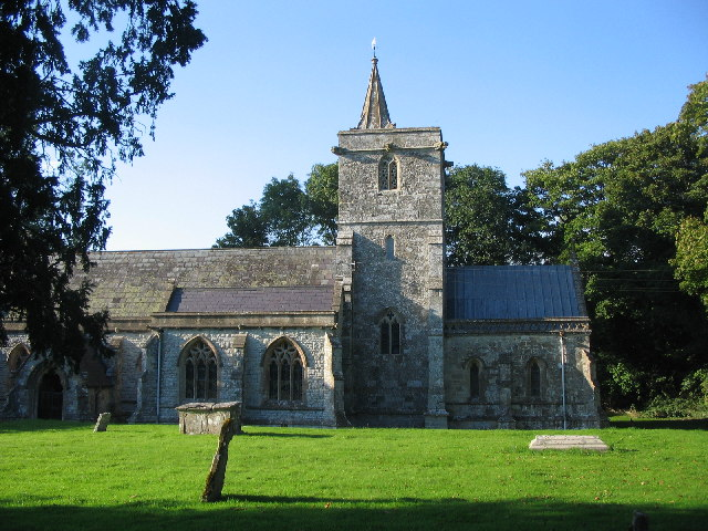 Kingston Deverill church
