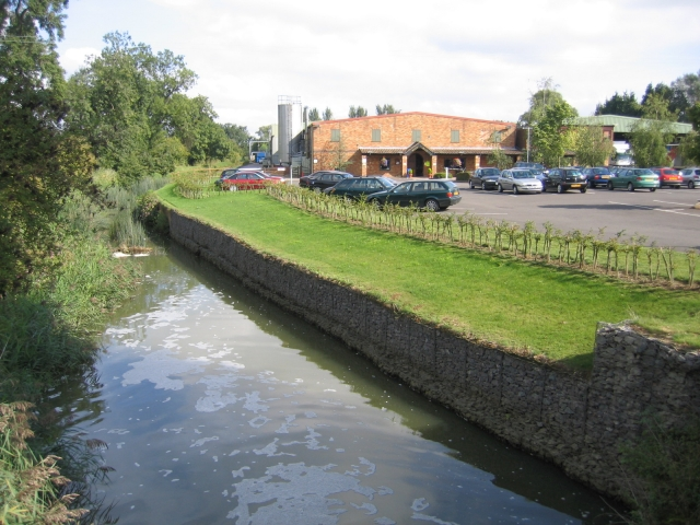 River Ivel and Mill Shop, Holme, Beds