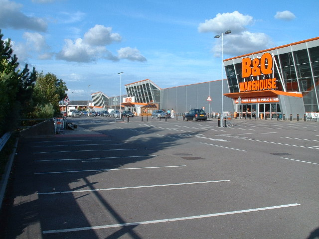 Harry says B&Q - What's that?
