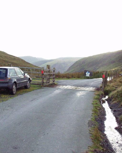 Mountain boundary of Parc Cenedlaethol Eryri
