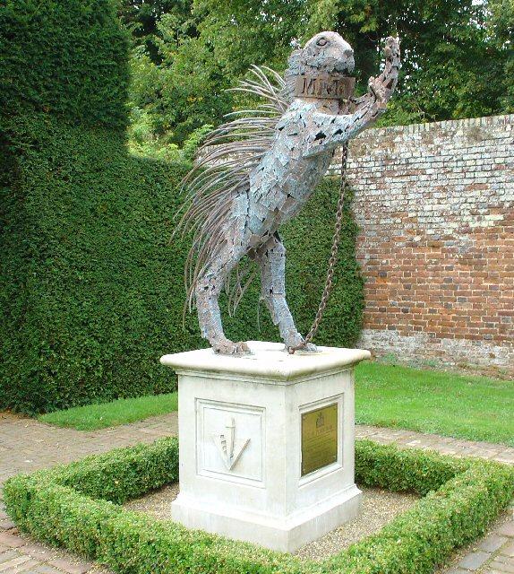 The Porcupine, Statue at Penshurst Place, Kent