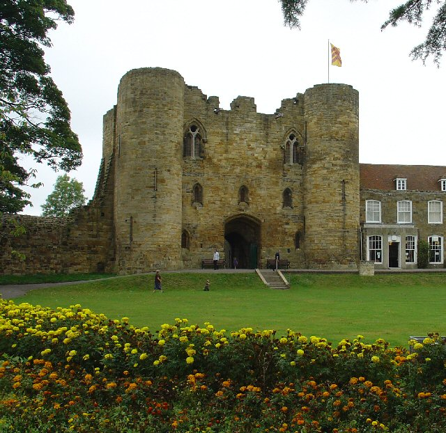 Tonbridge Castle Gatehouse - S Side, Tonbridge, Kent