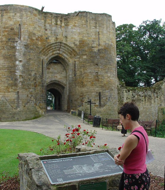 Tonbridge Castle Gatehouse - N Side, Tonbridge, Kent