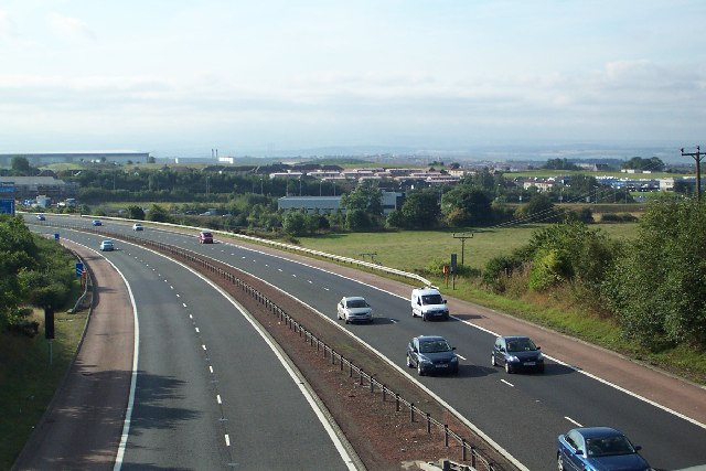 Over M90 looking South.