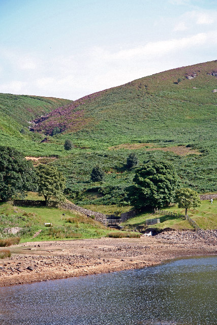 Embsay Reservoir and Moor Beck (or Crag Gill)