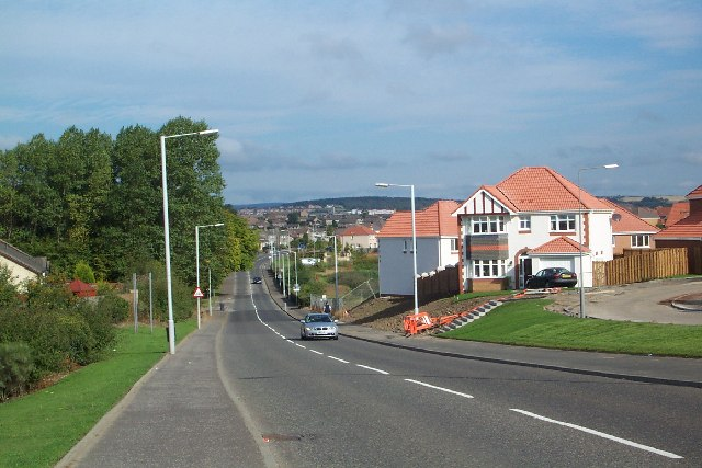 Dunfermline, Masterton looking North