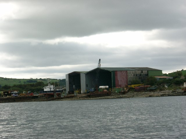 Shipyard at Ardmaleish Point