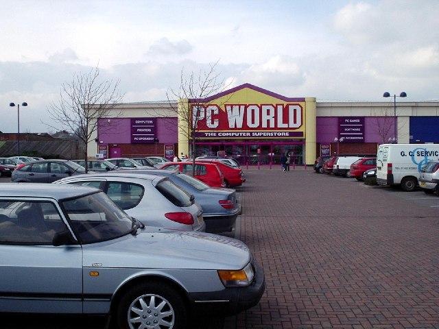 PCWorld, Clough Road