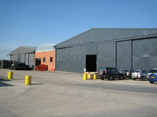 Hangars at Honeybourne Airfield
