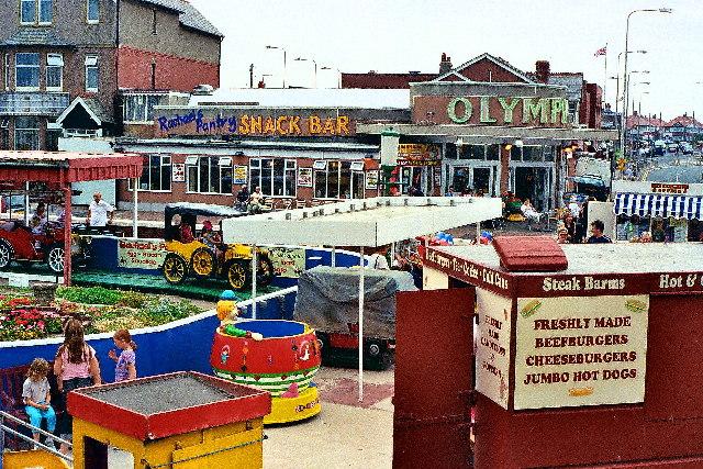 Fairground, Cleveleys