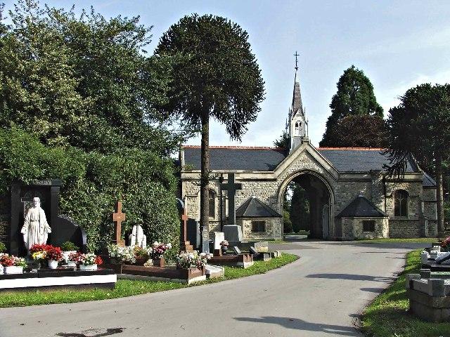 Chapel at Edmonton Cemetery, Church Street