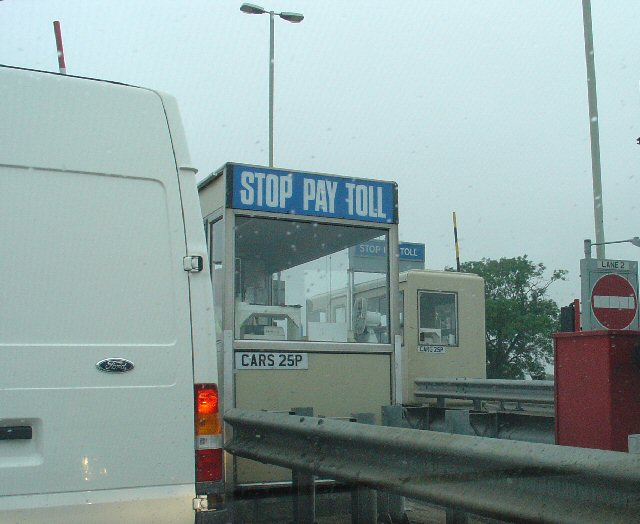 Toll Booth at East end of Dunham Bridge, Lincolnshire
