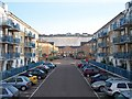 TQ3403 : Flats development at Brighton Marina. by Bob Embleton