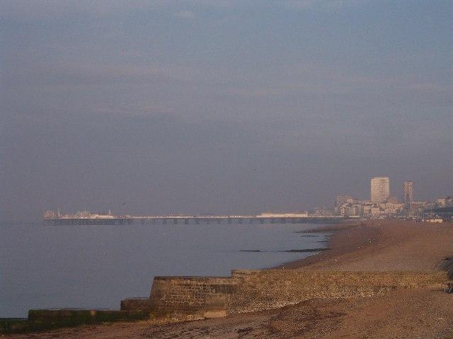 Palace Pier from Brighton Marina