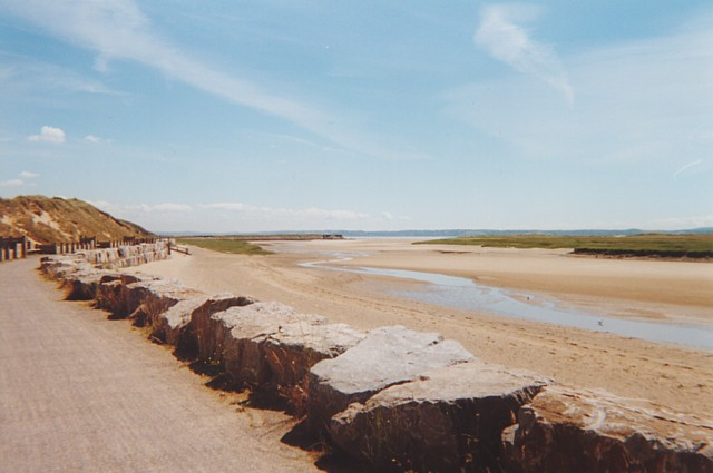 The Millennium Coastal Path at Pembrey