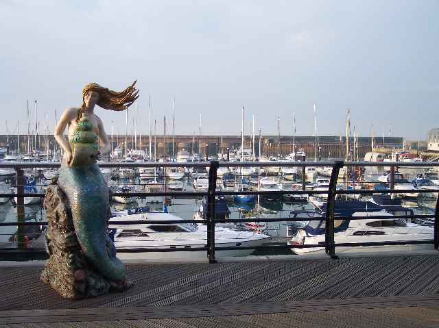 Mermaid, Brighton Marina