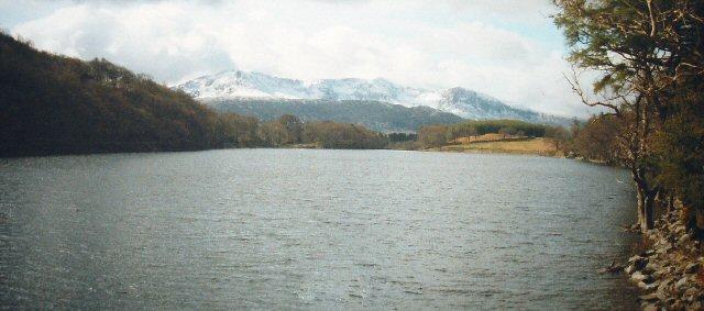 Llyn Cynwch, Above Dolgellau