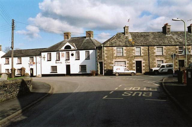 Bridestowe: village street