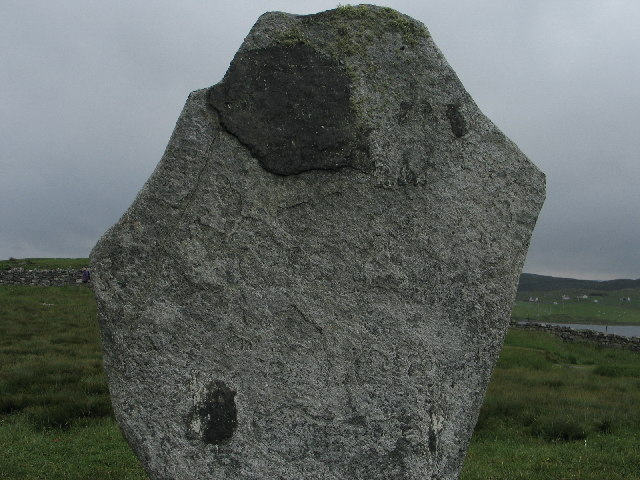 Detail of Standing Stone
