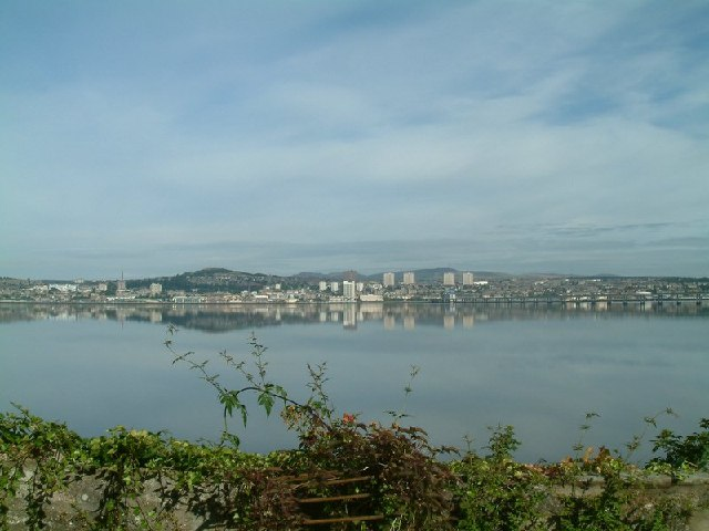 View of Dundee and River Tay