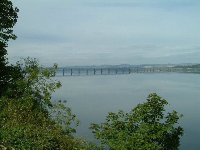 Railway Bridge from Newport vantage point NO4127