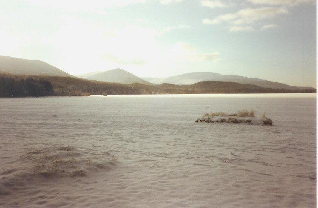 Loch Morlich in December