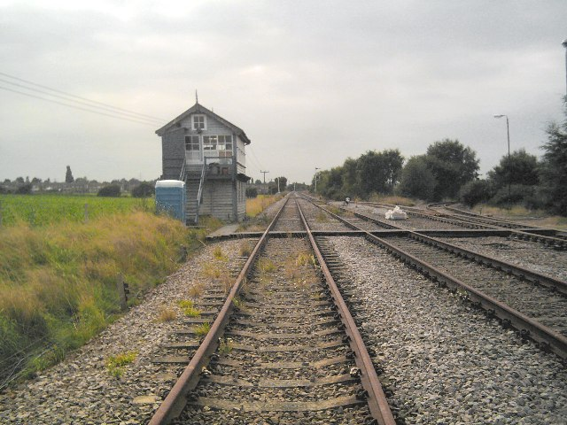 Signal box at Thoresby Junction