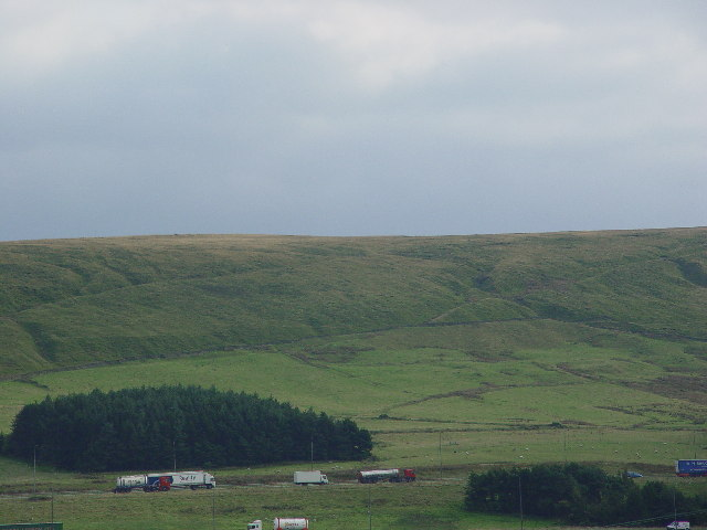 A rather featureless part of the Pennines