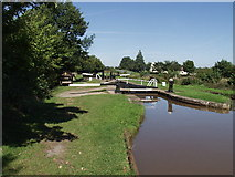 SJ5346 : Quoisley Lock on the Shropshire Union Canal by John Haynes