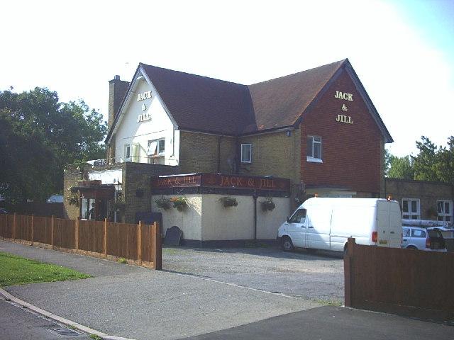 Jack & Jill pub, Longlands Avenue, Coulsdon