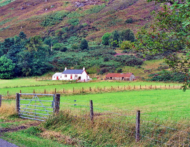 House near Trislaig, Ardgour