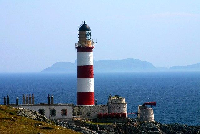Eilean Glas lighthouse Scalpay