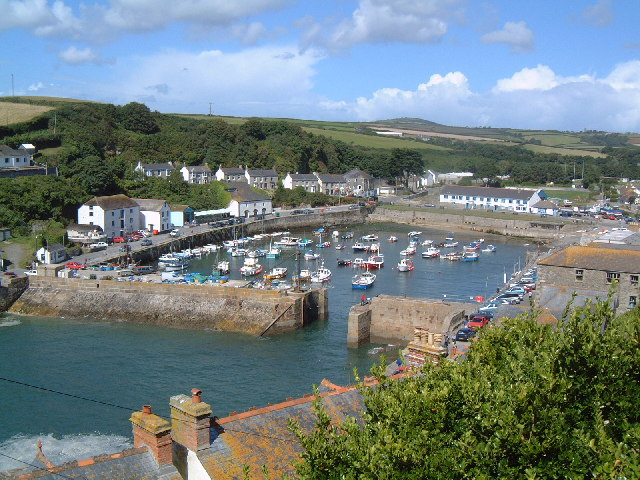 Porthleven Harbour from Peverell Road