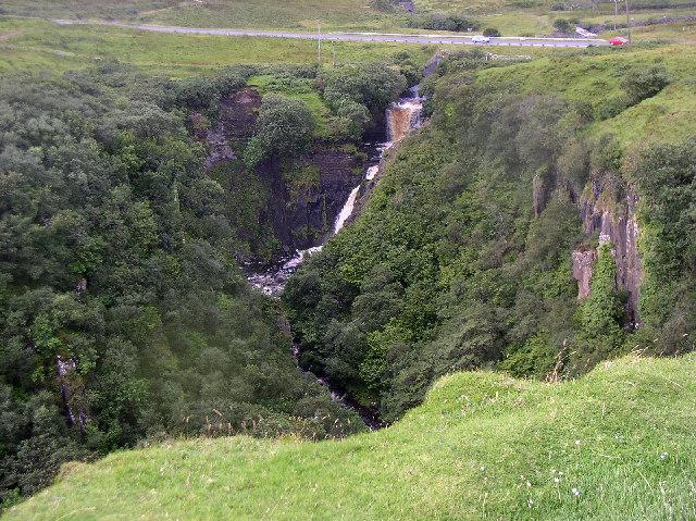 Lealt waterfall