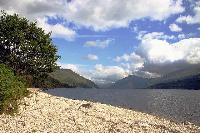 Looking north east along Loch Shiel