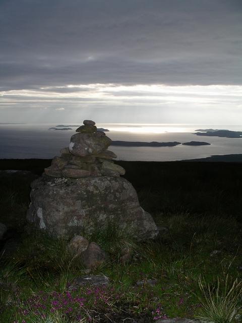 Cairn above Culnacraig