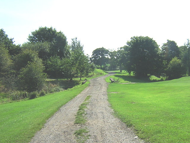 Hindley Golf Club Service Road