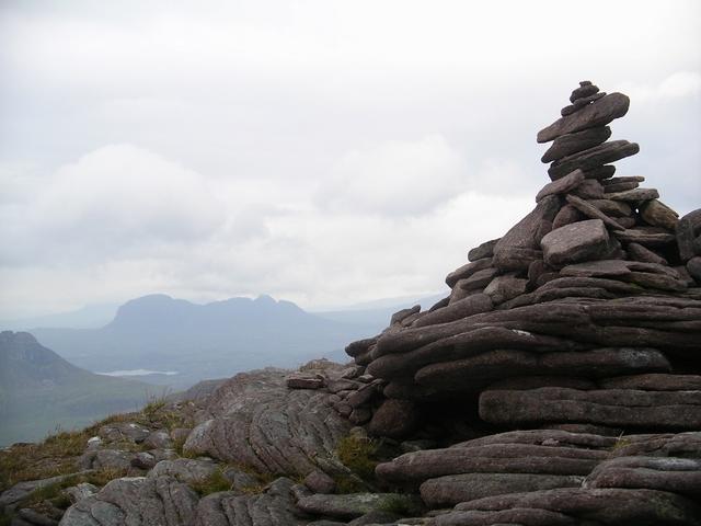 Summit Cairn, Sgurr an Fhidhleir