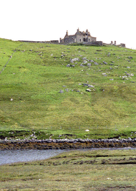 """""""Most haunted house in Shetland"""""""