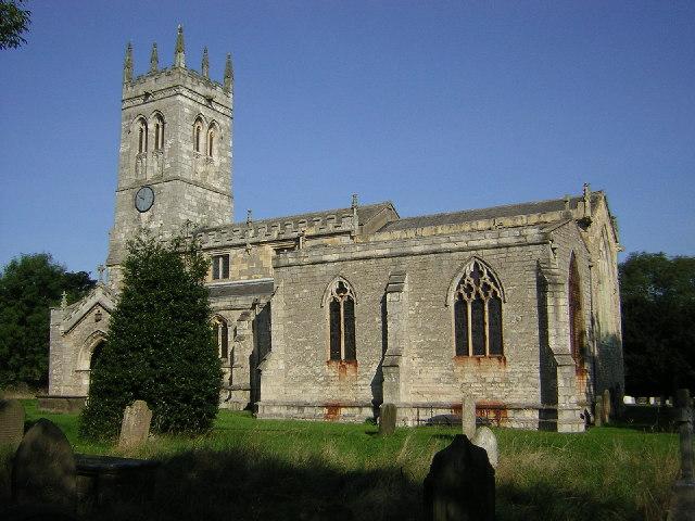St.John the baptist's church, Wadworth