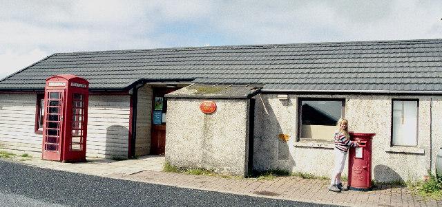 Baltasound Post Office - most northerly in Britain