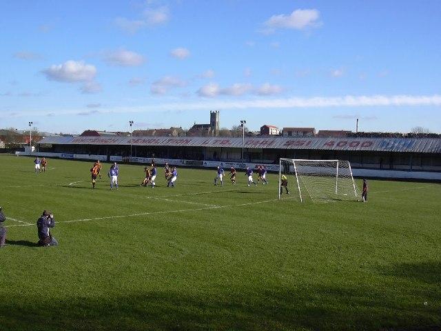 Duncansfield Park, Kilsyth. Football ground